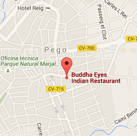 Where to find Buddha Eyes Restaurant Pego